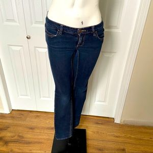Roxy Super Skinny Dark Wash size 0